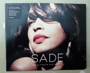 Sade The Ultimate Collection 2CD+DVD Front Cover