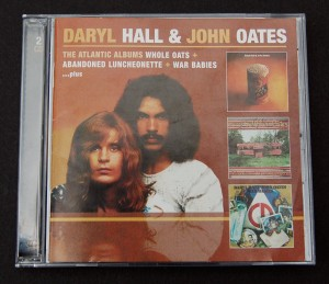 Daryl Hall and John Oates / The Atlantic Abums / Whole Oats + Abandoned Luncheonette + War Babies / Review