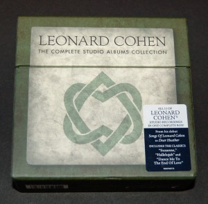 Leonard Cohen / The Complete Studio Albums Collection / 11-CD Box Set