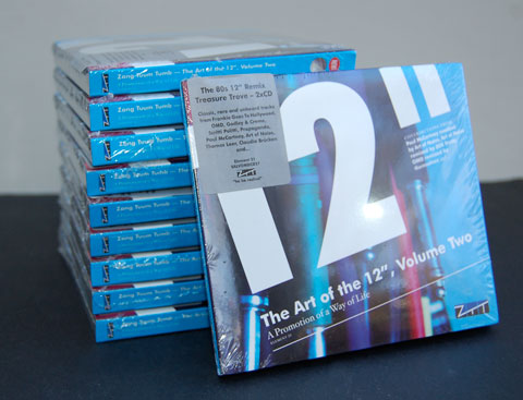 "Competition: Art of the 12"", Volume Two / 10 copies to be won"