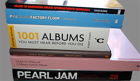 Top 10 Music Books / New Year Round-Up