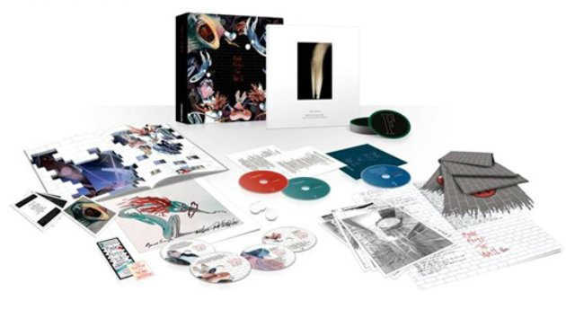 Pink Floyd / The Wall Immersion Box / track listing confirmed