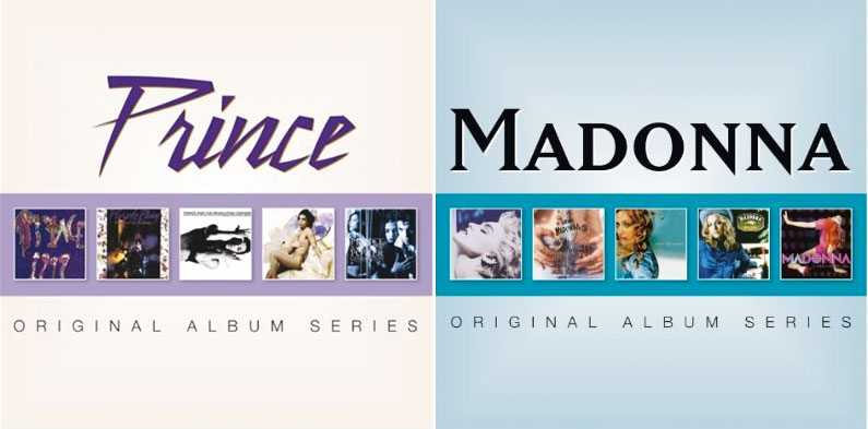 Prince and Madonna Original Album Series due soon