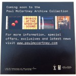 Coming soon to the Paul McCartney Archive Collection