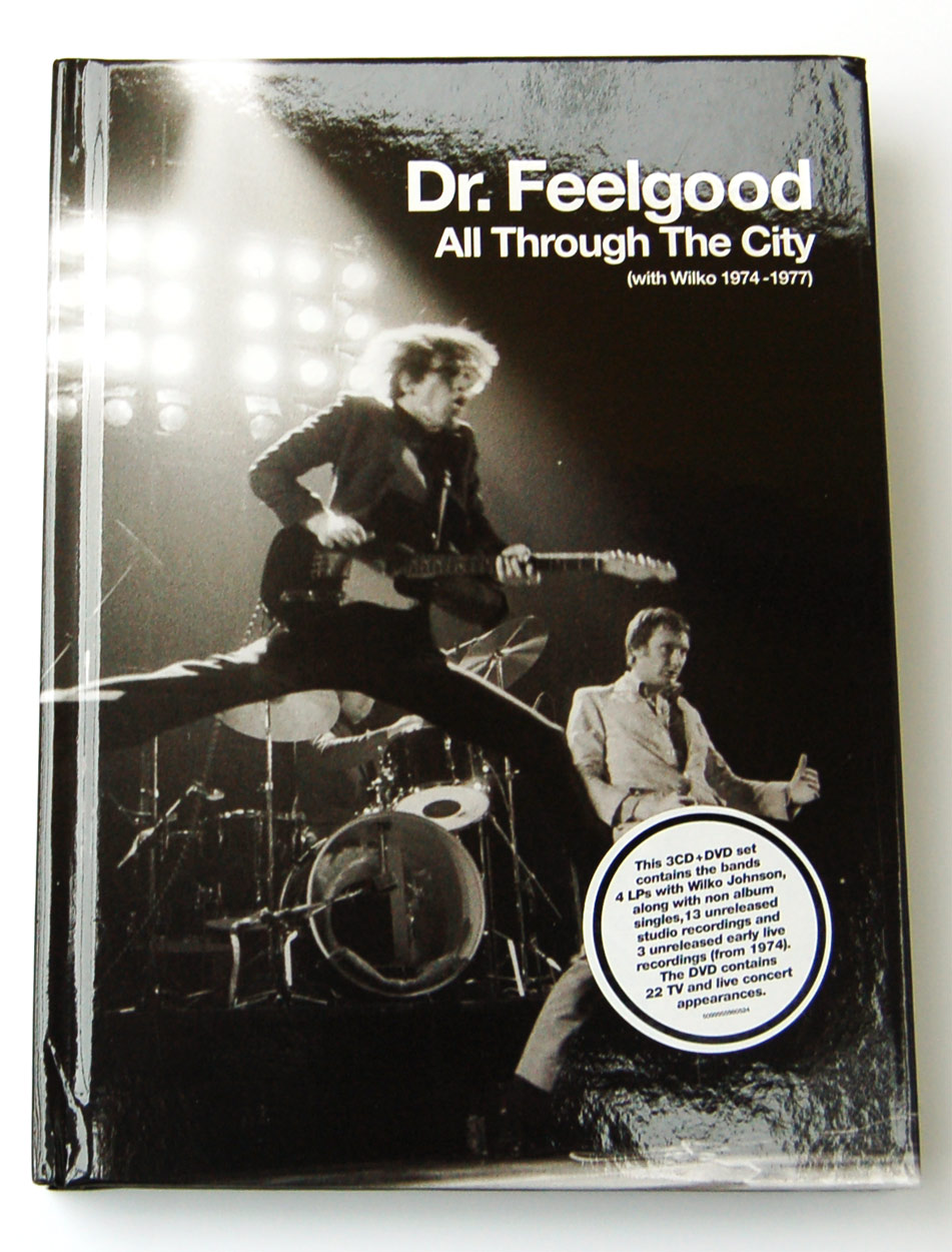Dr. Feelgood / All Through The City (with Wiko 1974-1977) 4-disc box set