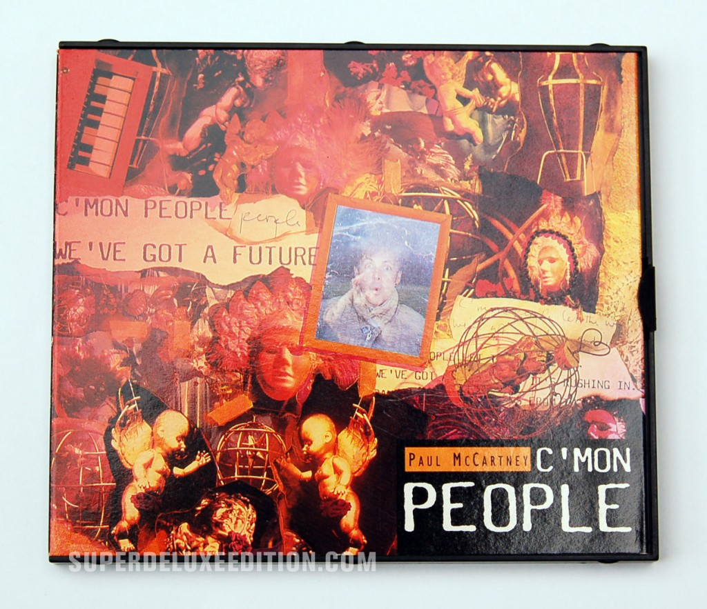 Paul McCartney / C'mon People CD Single
