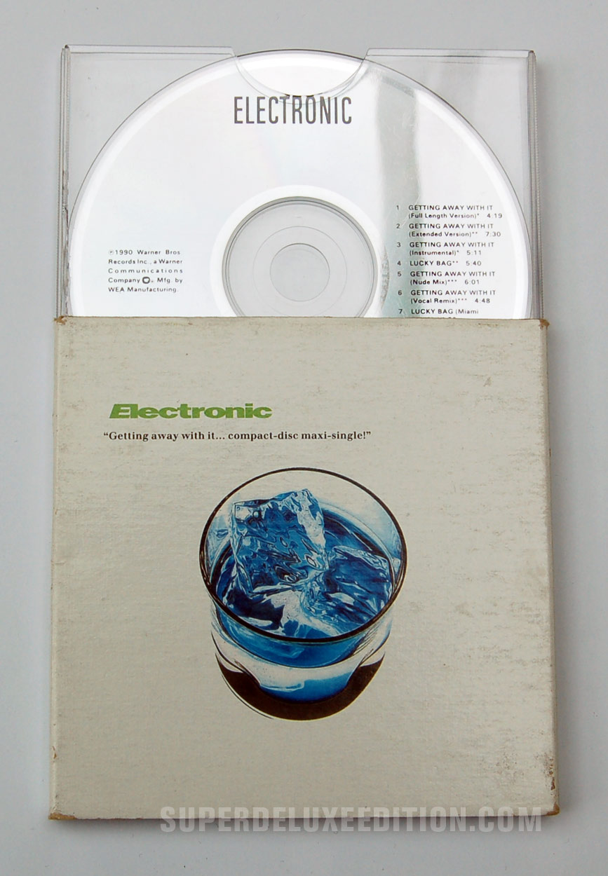 Electronic / Getting Away With It CD Single