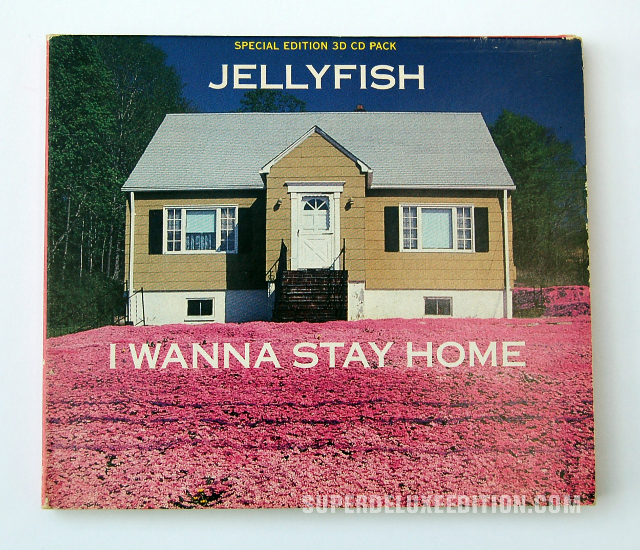 Jellyfish / I Wanna Stay Home CD Single
