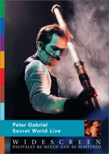 Peter Gabriel / Secret World Live Restored Blu-ray and DVD