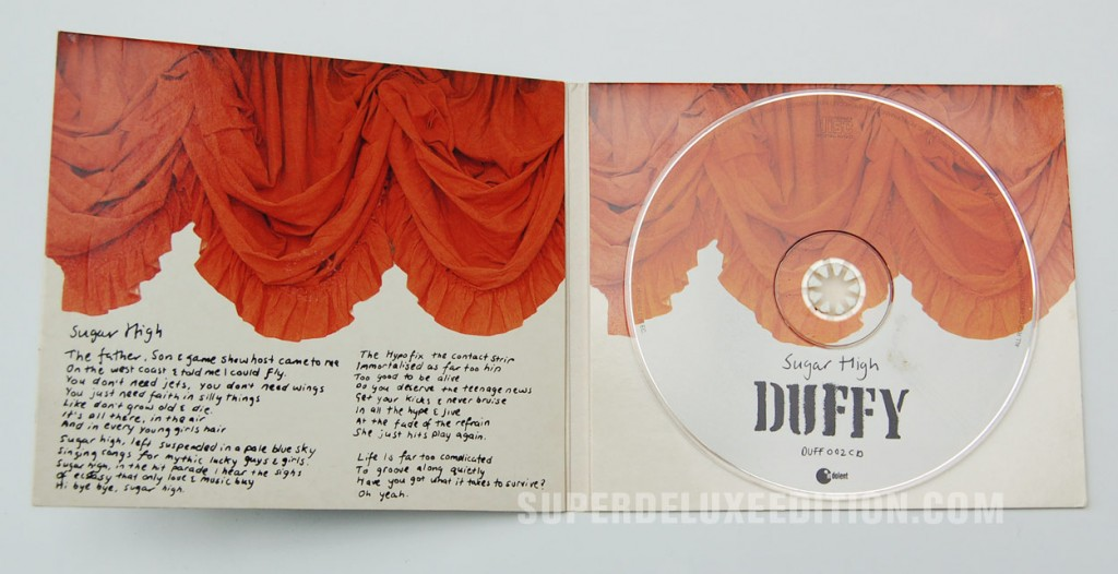 Stephen Duffy / Sugar High CD Single