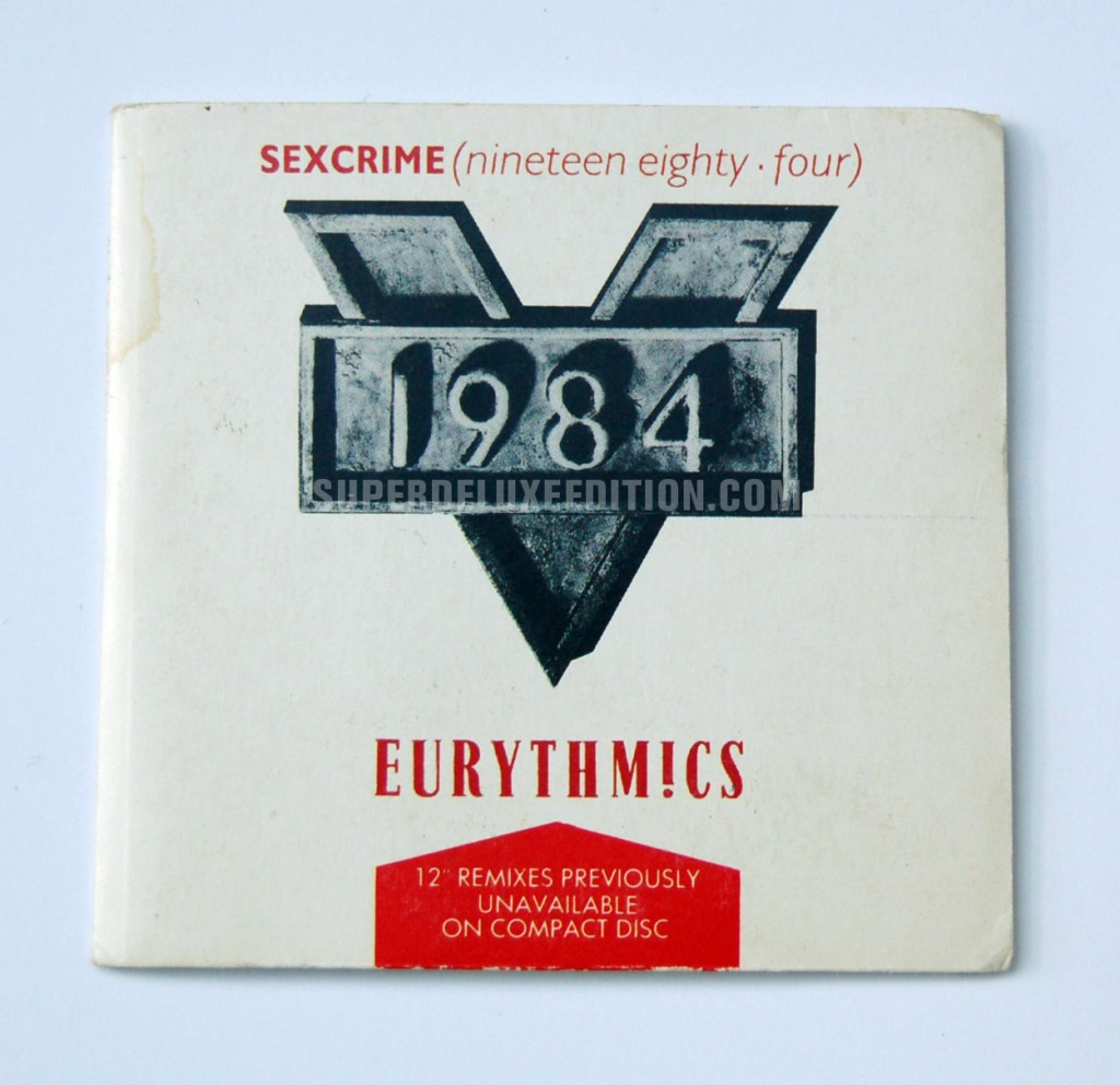 Eurythmics / Sexcrime • 1984 CD Single
