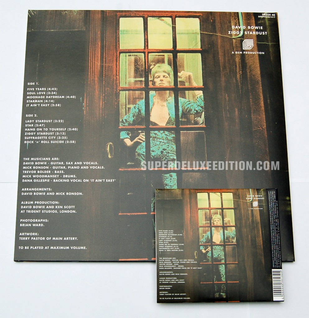 David Bowie / Ziggy Stardust 40th Anniversary Edition