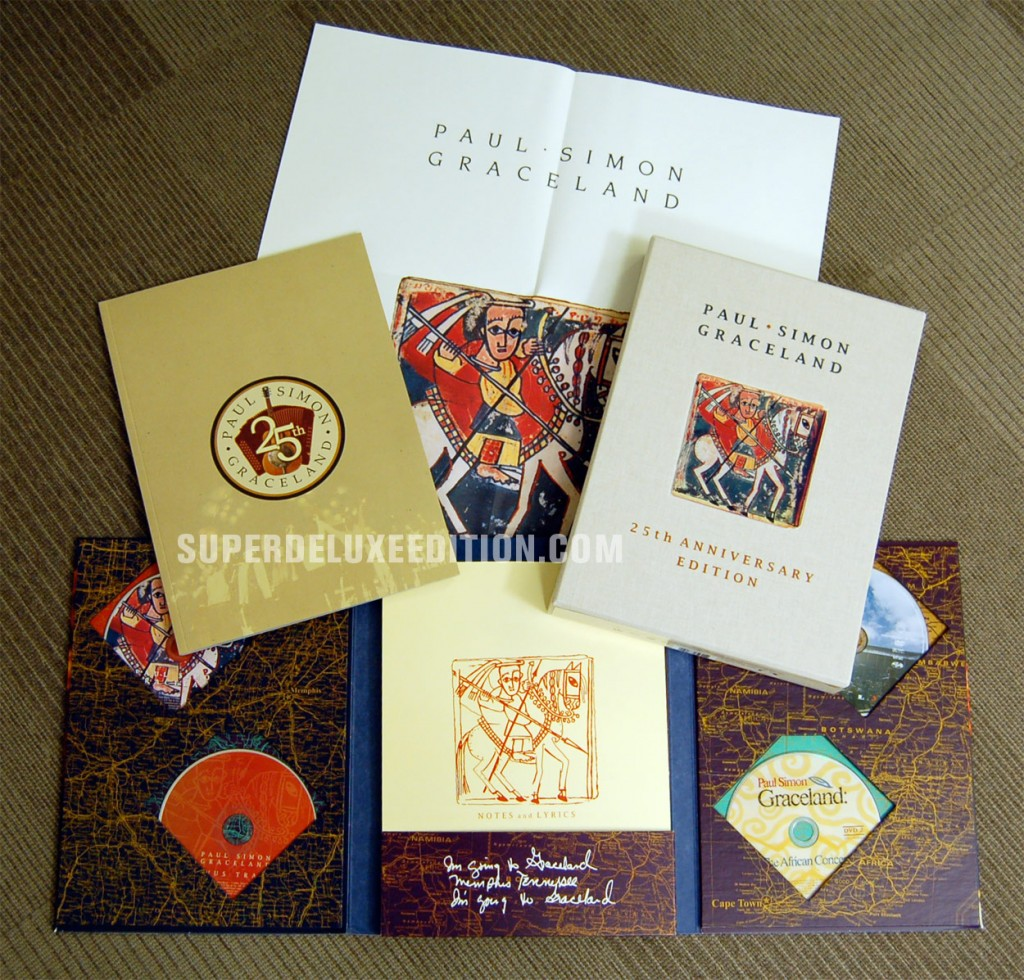 Paul Simon / Graceland 25th Anniversary Edition Collectors' Box Set