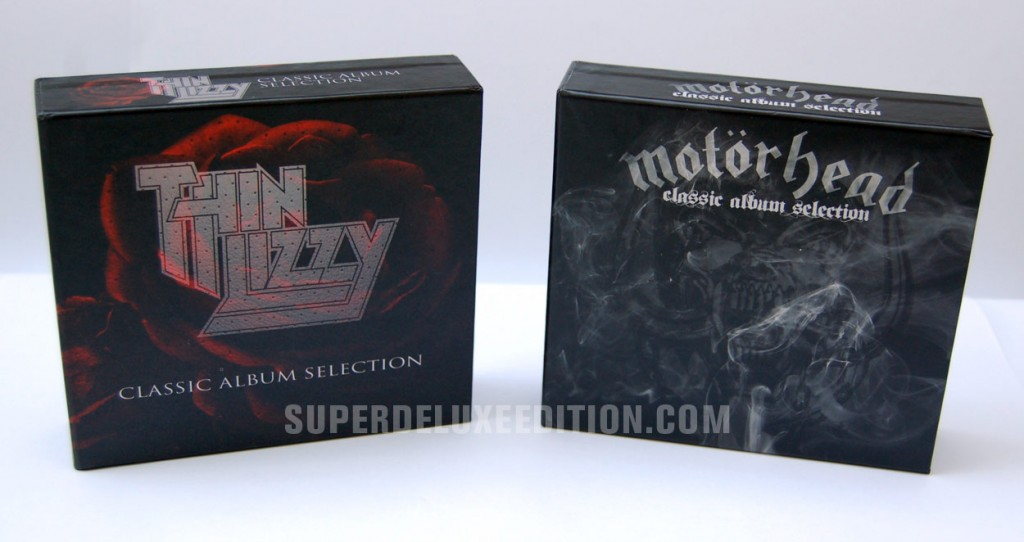Thin Lizzy & Motorhead Classic Album Selection box sets