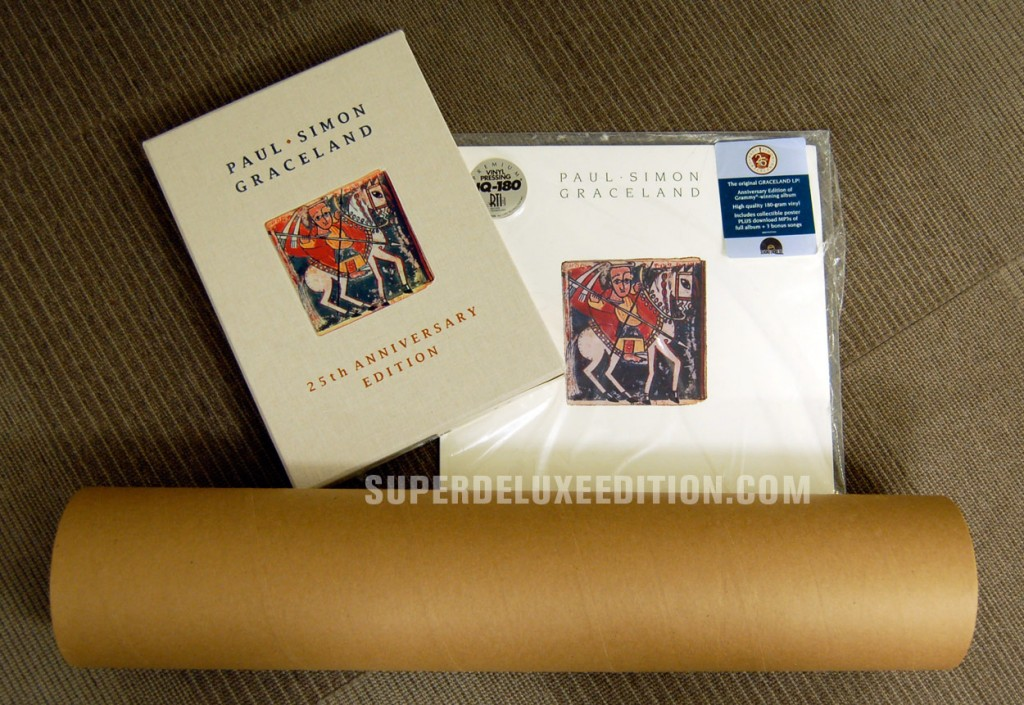 Paul Simon / Graceland 25th Anniversary Edition Collectors' Bundle