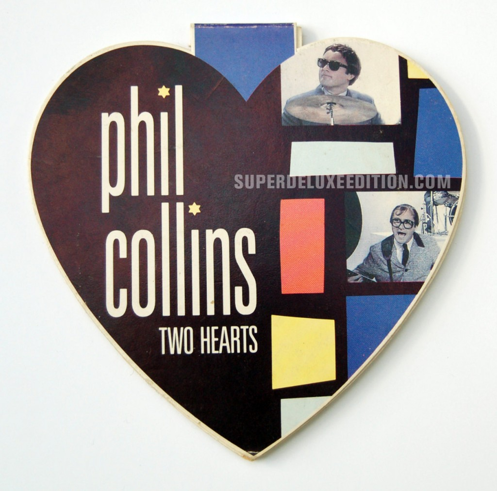 Phil Collins / Two Hearts CD Single