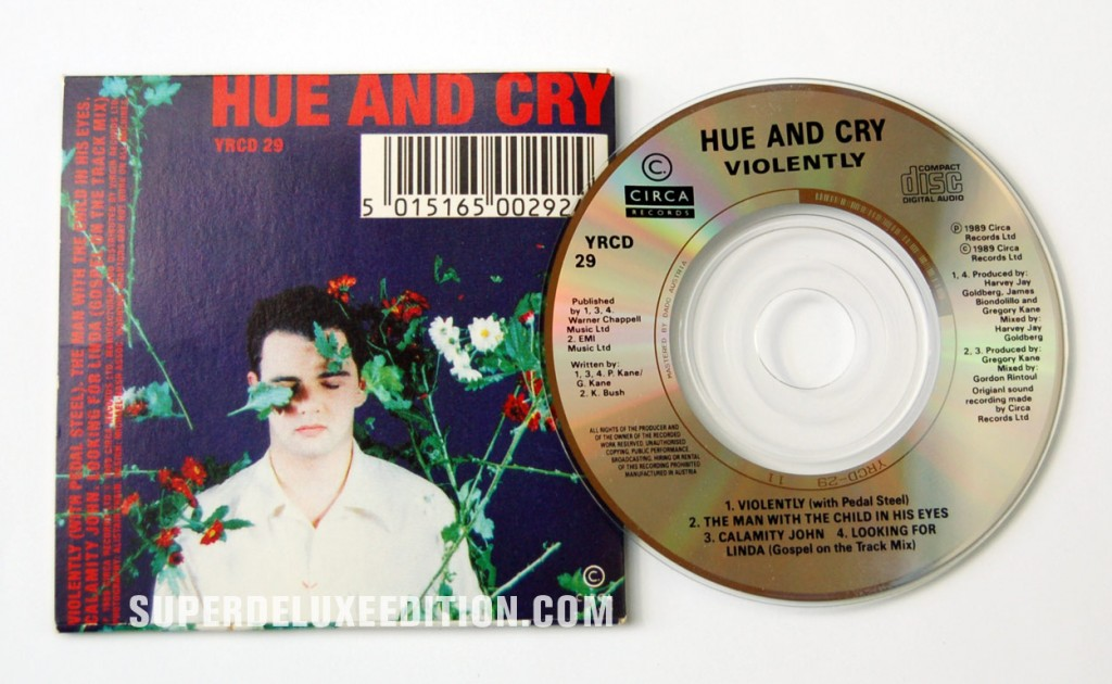 Hue and Cry / Violently CD Single