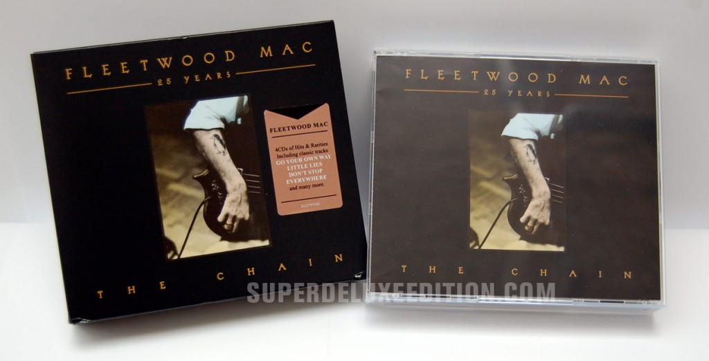 Fleeetwood Mac / 25 Years: The Chain 4CD box set reissue