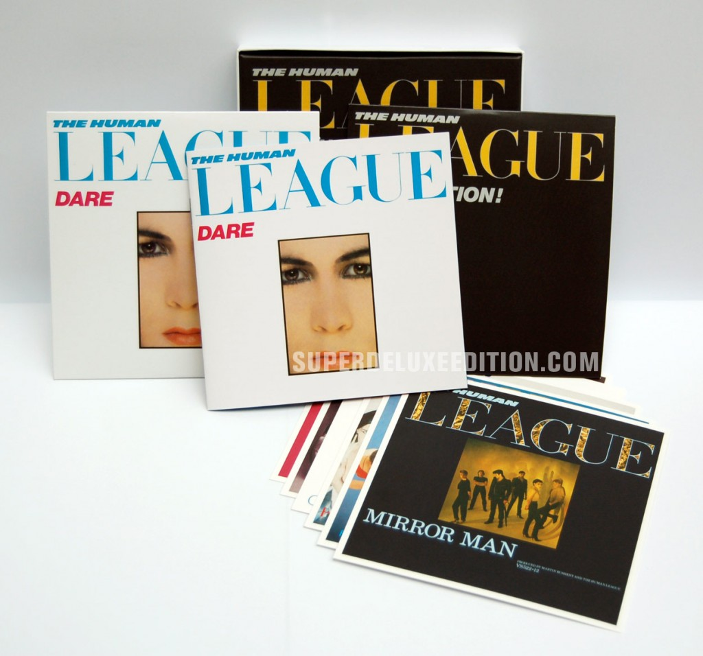 The Human League / Dare & Fascination! EP reissue