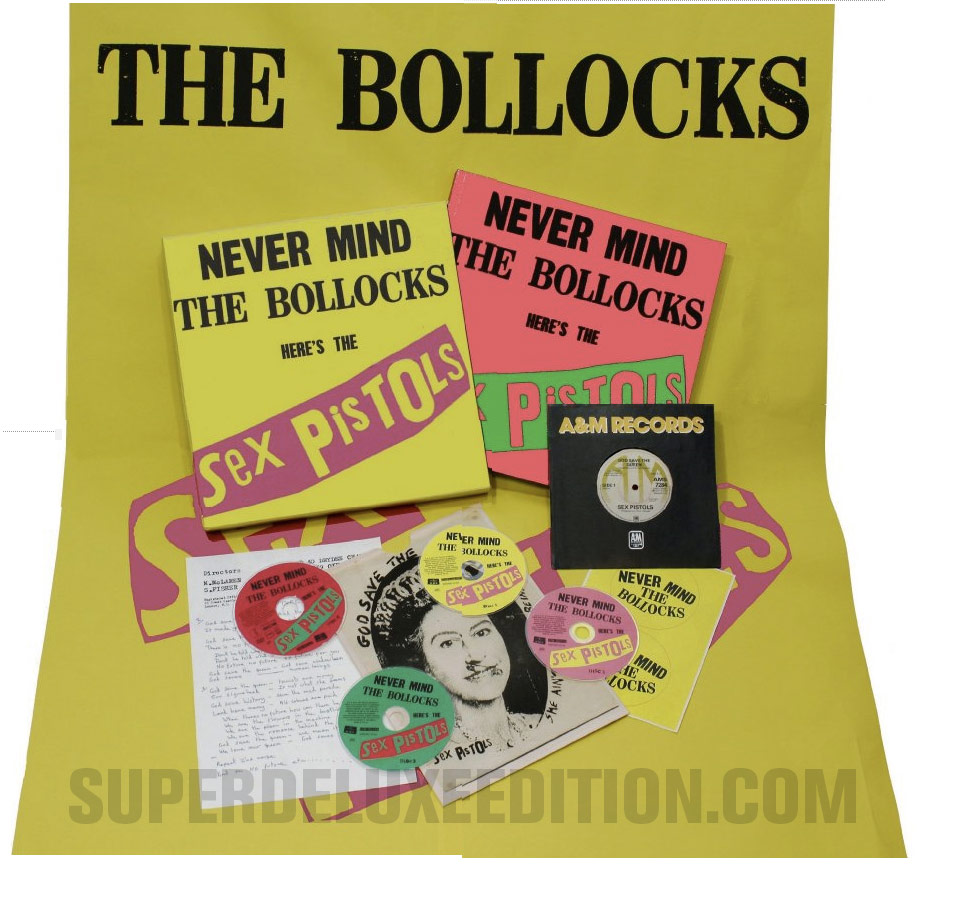 Sex Pistols / Never Mind The Bollocks Here's The Sex Pistols Super Deluxe Edition