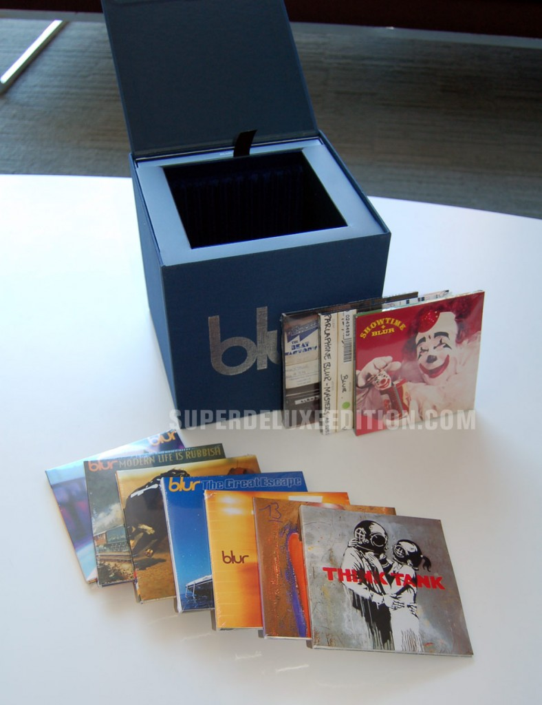 Blur 21: The Box / First Pictures