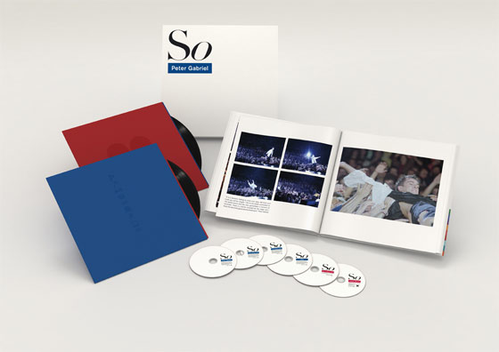 Peter Gabriel / So / Limited Edition Deluxe Box Set