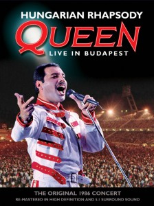 Queen / Hungarian Rhapsody Blu-ray and DVD Deluxe Editions