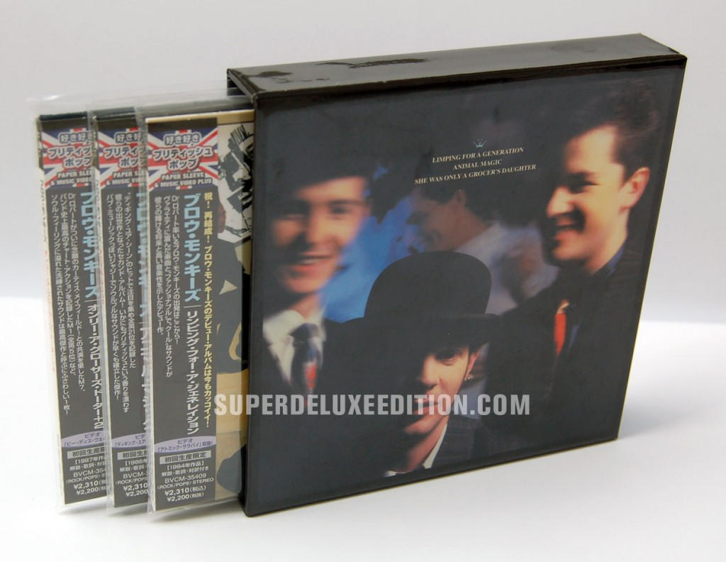 The Blow Monkeys / Animal Magic box set Japanese mini LP CD