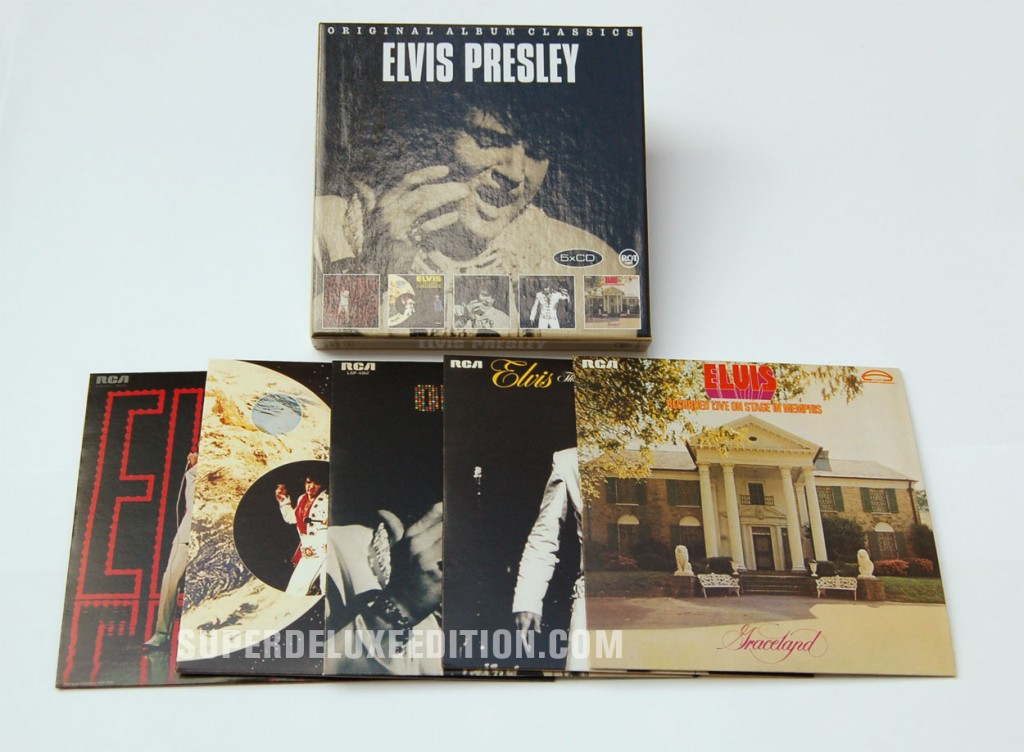 Elvis Presley / Original Album Classics box set