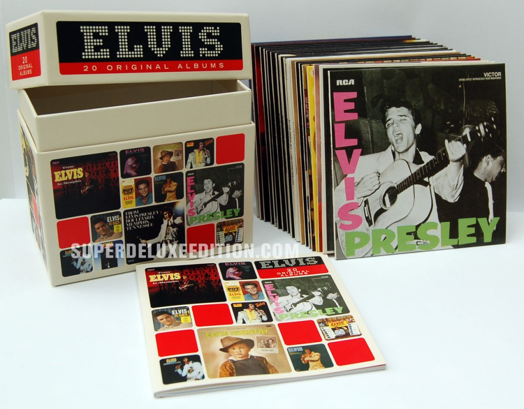 The Perfect Elvis Presley Collection / 20 Original Albums box set