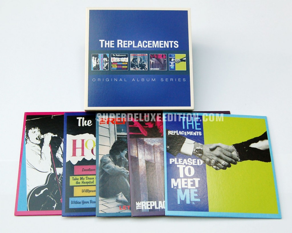 The Replacements / Original Album Series box set