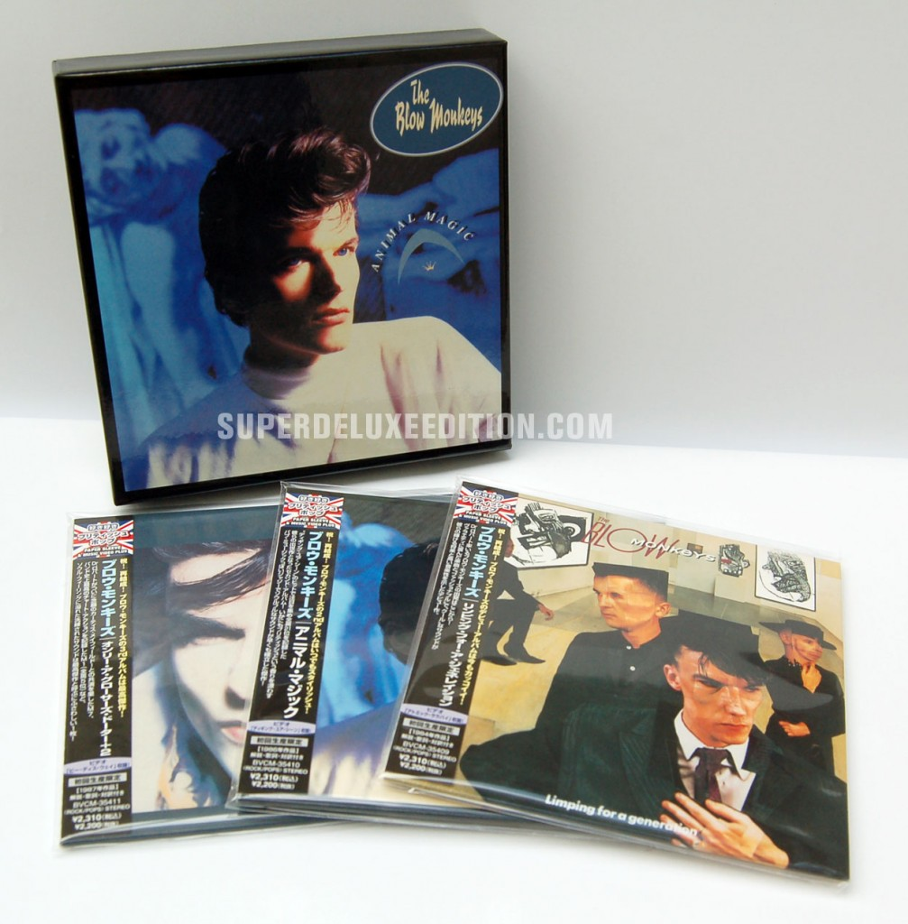 The Blow Monkeys / Japanese box set