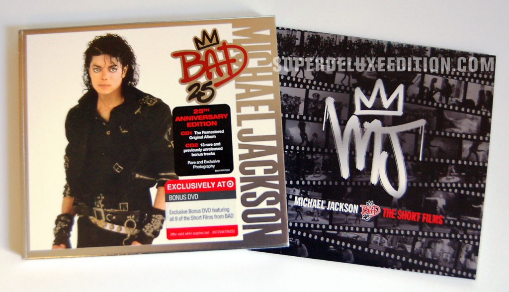 Michael Jackson / Bad25 Target exclusive edition