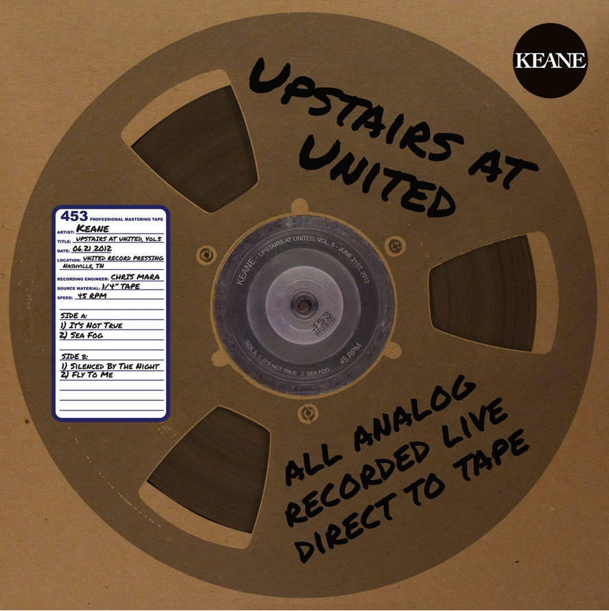 "Keane / Upstairs At United, Vol 5 / 12"" vinyl"