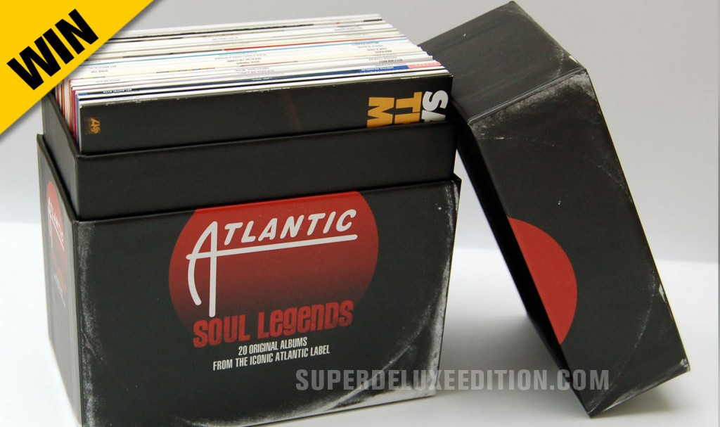 WIN! Atlantic Soul Legends 20CD box set