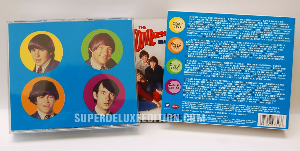 The Monkees / Music Box reissue