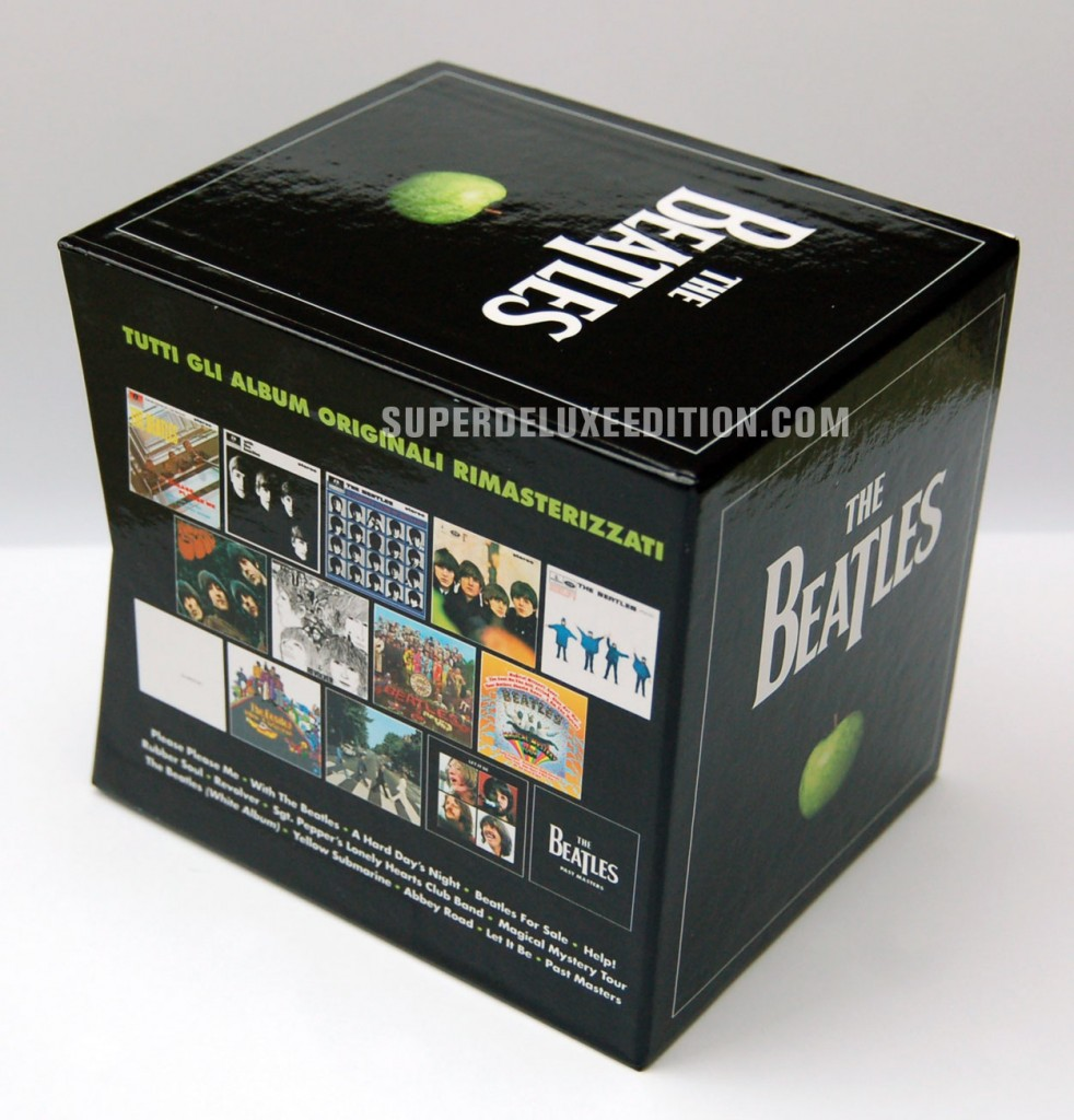The Beatles / La Repubblica Italian box set