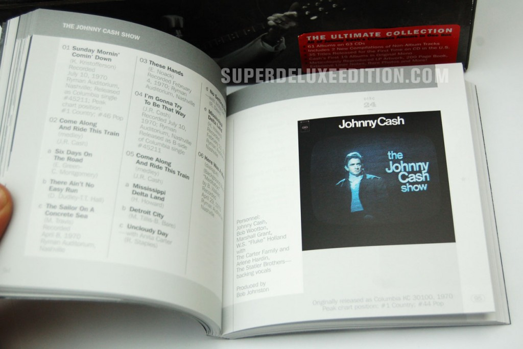 Johnny Cash / The Complete Columbia Albums Collection