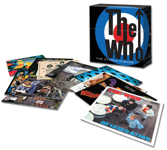 The Who / The Studio Albums vinyl box set