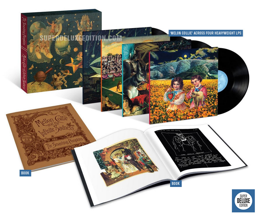 Smashing Pumpkins / Mellon Collie and the Infinite Sadness Vinyl box set
