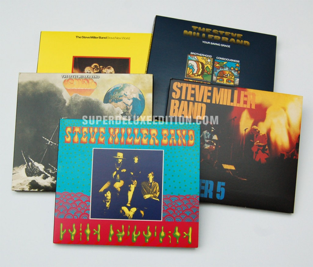Steve Miller Band reissues