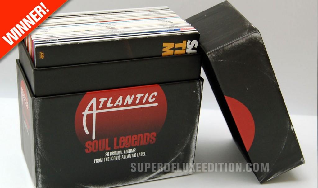 Competition Winner! Atlantic Soul Legends box set