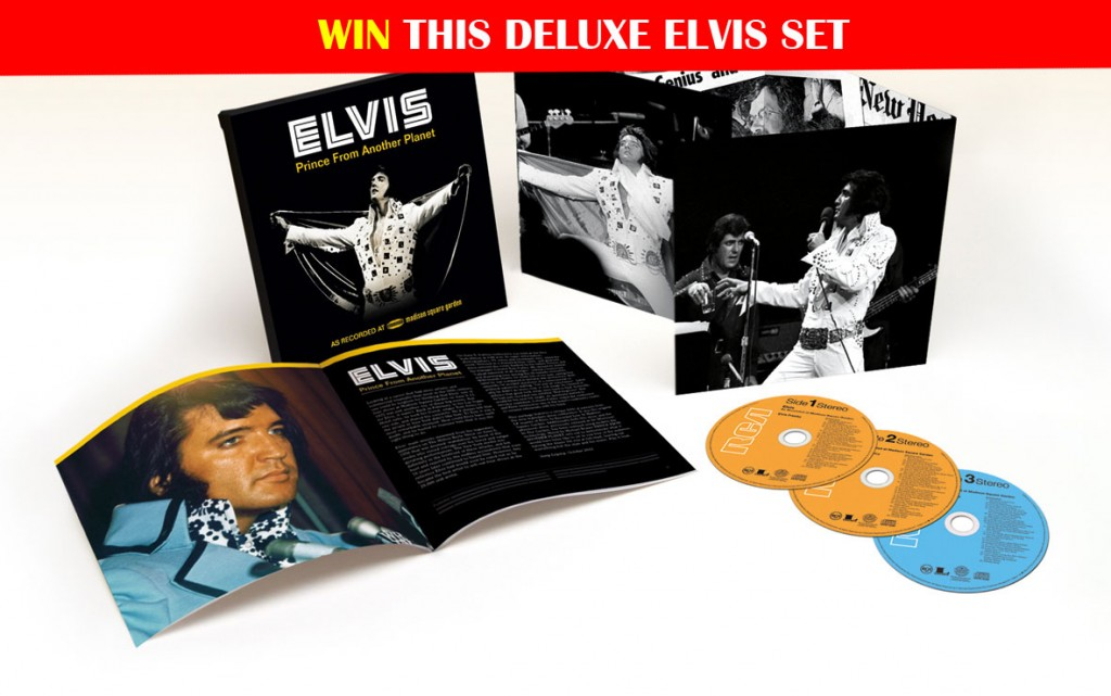 "Win a copy of Elvis' ""Prince From Another Planet"""