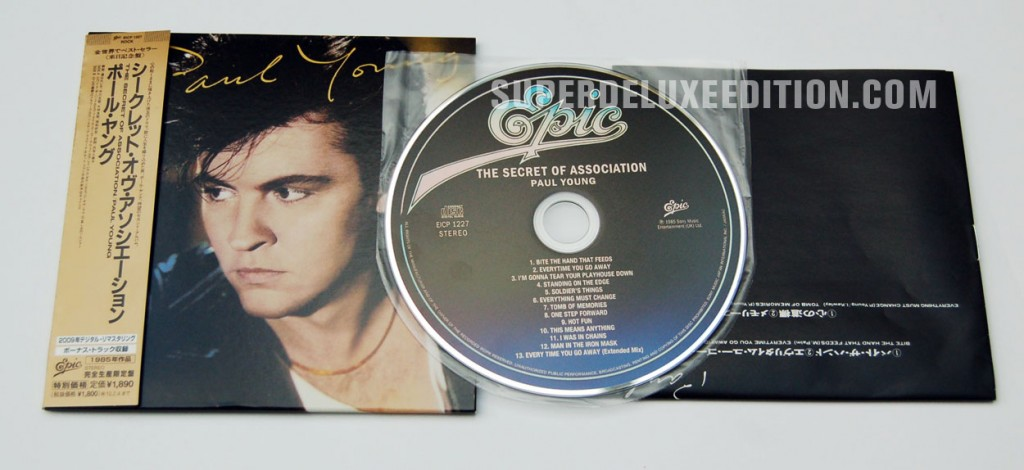 Paul Young / The Secret Of Association Japanese CD of the day