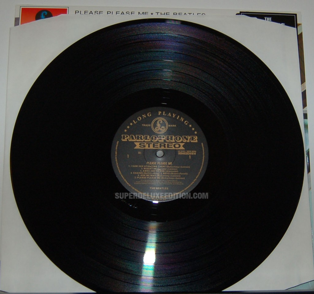 The Beatles / Please Please Me Stereo Vinyl Remasters