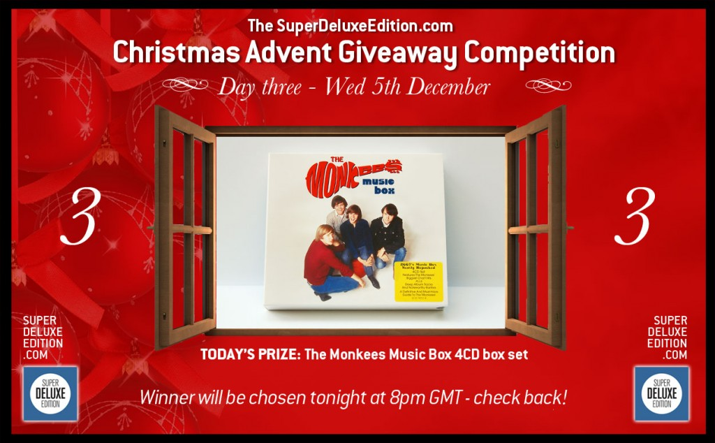 Christmas Advent Giveaway competition / Day Three: The Prize