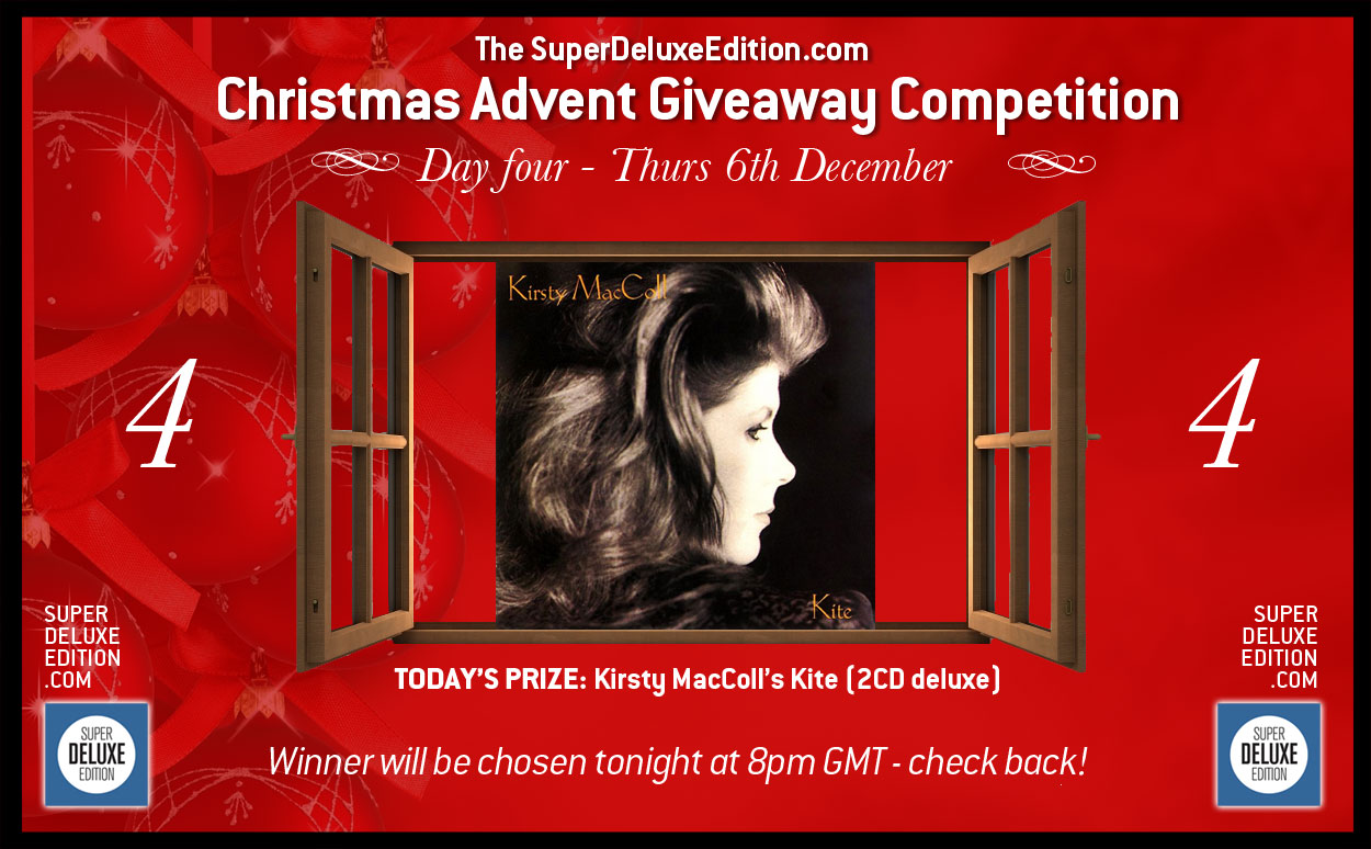 Christmas Advent Giveaway competition / Day Four: The Prize