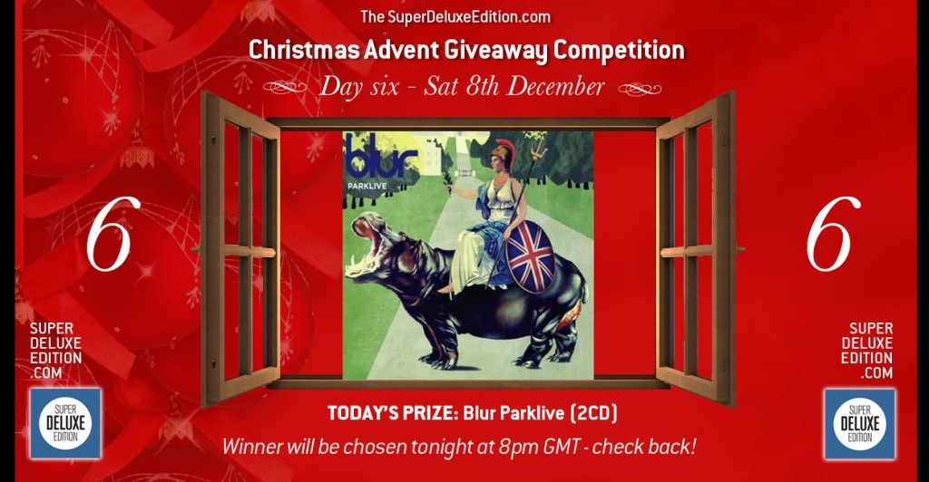 Christmas Advent Giveaway competition / Day Six: The Prize