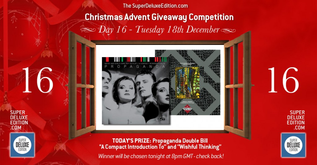 Christmas Advent Giveaway competition / Day 16: The Prize