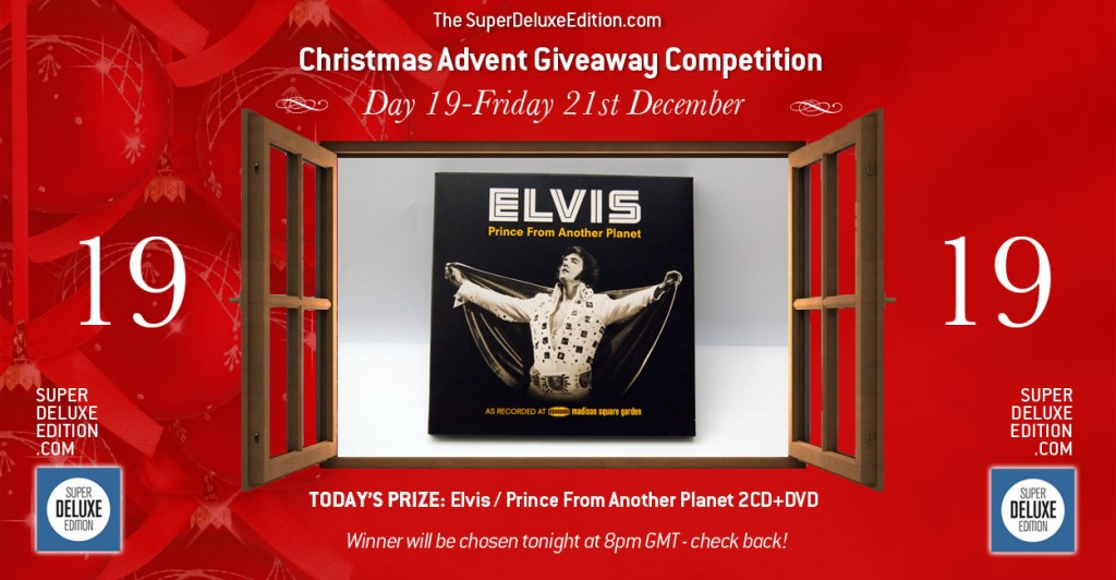 Christmas Advent Giveaway competition / Day 19: The Prize